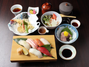にぎり寿司御膳